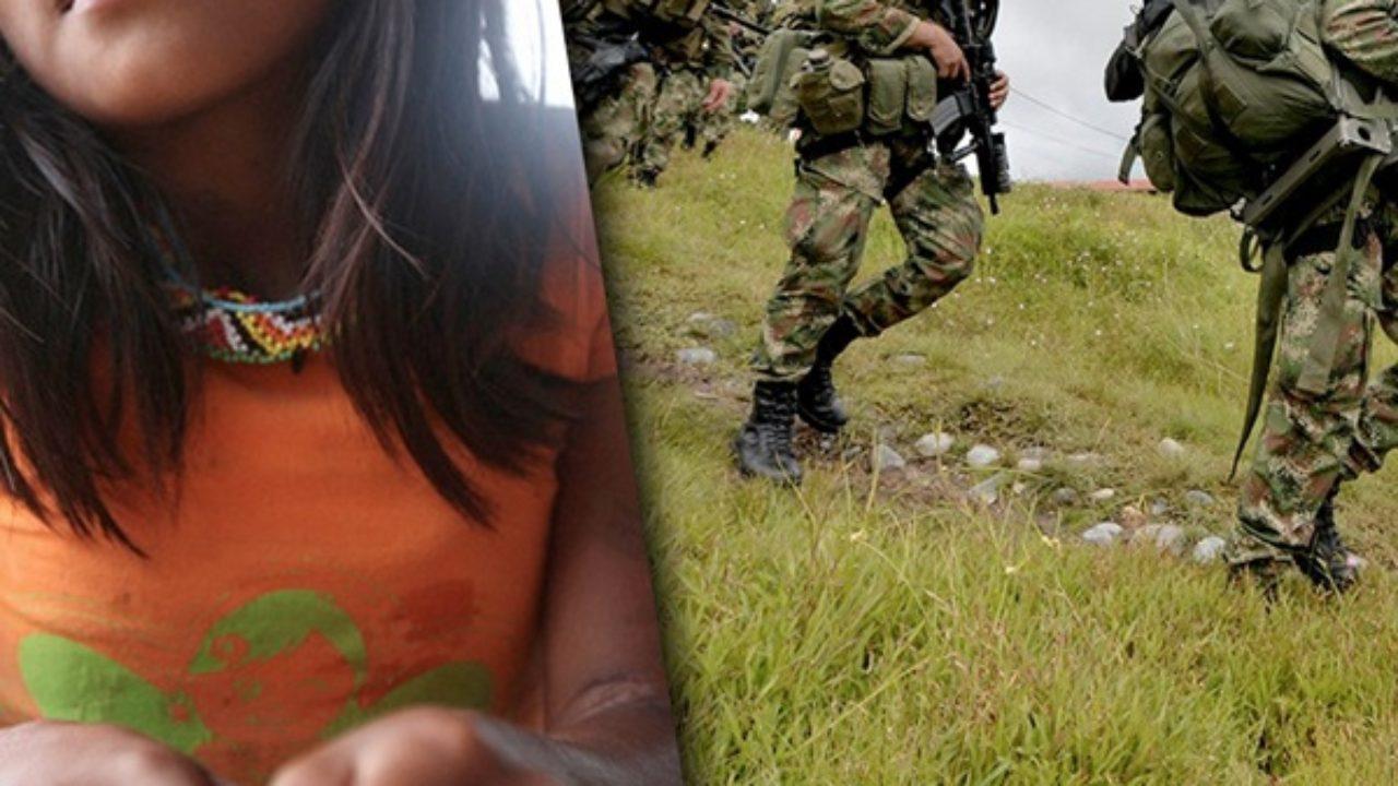 Citan a audiencia a siete soldados por presunto acceso carnal violento y  secuestro a niña Embera Chamí |
